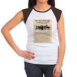 OK Corral Reward Women's Cap Sleeve T-Shirt