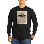 OK Corral Reward Long Sleeve Dark T-Shirt