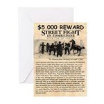OK Corral Reward Greeting Cards (Pk of 20)