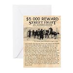 OK Corral Reward Greeting Cards (Pk of 10)
