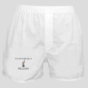 I'd Rather Be A Pelican Boxer Shorts