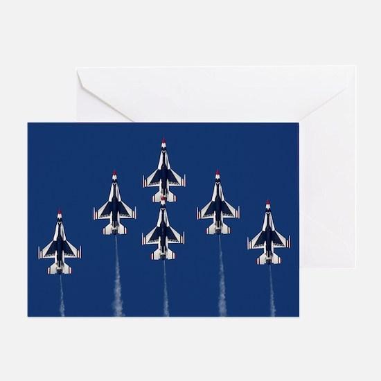 USAF Thunberbirds Greeting Card