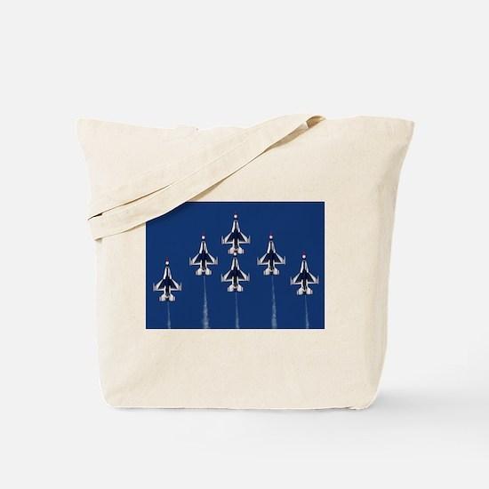 USAF Thunberbirds Tote Bag
