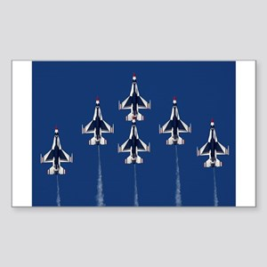 USAF Thunberbirds Rectangle Sticker