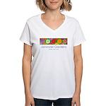 Janowski Gardens Zinnia Women's T-Shirt
