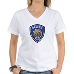 Orland Police Women's V-Neck T-Shirt