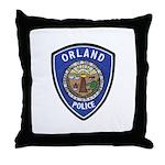 Orland Police Throw Pillow
