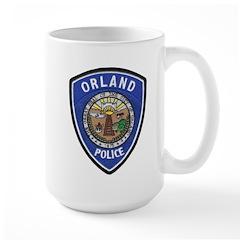 Orland Police Large Mug