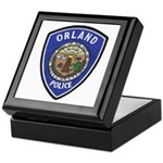 Orland Police Keepsake Box