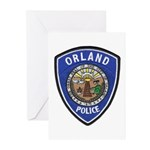 Orland Police Greeting Cards (Pk of 20)