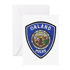Orland Police Greeting Cards (Pk of 10)