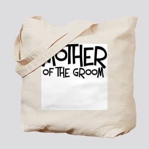 Hipster Mother of Groom: Coal Tote Bag
