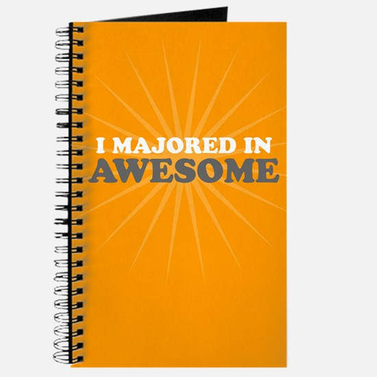I Majored in Awesome Journal