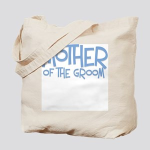Hipster Mother of Groom: Blue Tote Bag
