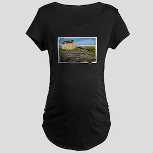 Wise Man Maternity Dark T-Shirt