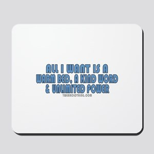 Unlimited Power Mousepad