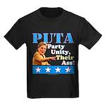 PUTA (not PUMA) Hillary Clinton Kids Dark T-Shirt