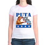 PUTA (not PUMA) Hillary Clinton Jr. Ringer T-Shirt