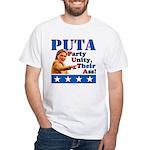 PUTA (not PUMA) Hillary Clinton White T-Shirt
