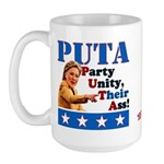 PUTA (not PUMA) Hillary Clinton Large Mug