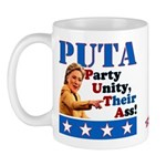 PUTA (not PUMA) Hillary Clinton Mug