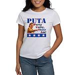 PUTA (not PUMA) Hillary Clinton Women's T-Shirt