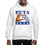 PUTA (not PUMA) Hillary Clinton Hooded Sweatshirt