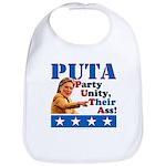 PUTA (not PUMA) Hillary Clinton Bib