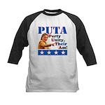 PUTA (not PUMA) Hillary Clinton Kids Baseball Jers