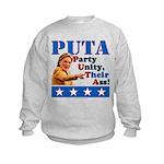 PUTA (not PUMA) Hillary Clinton Kids Sweatshirt