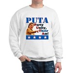 PUTA (not PUMA) Hillary Clinton Sweatshirt