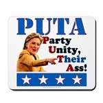 PUTA (not PUMA) Hillary Clinton Mousepad
