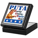 PUTA (not PUMA) Hillary Clinton Keepsake Box
