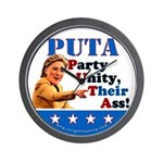 PUTA (not PUMA) Hillary Clinton Wall Clock