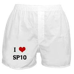 I Love SP10 Boxer Shorts