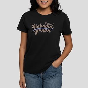 Organic! Alabama Grown Women's Dark T-Shirt