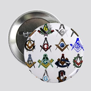 "Masonic Square and Compass 2.25"" Button"
