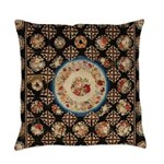 Floral Needlepoint Everyday Pillow