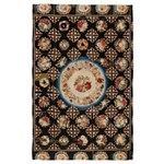 Floral Needlepoint 4' X 6' Rug