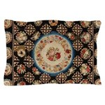 Floral Needlepoint Pillow Case