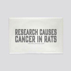 Research Cancer Rectangle Magnet