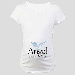 Angel-In-Training Maternity T-Shirt