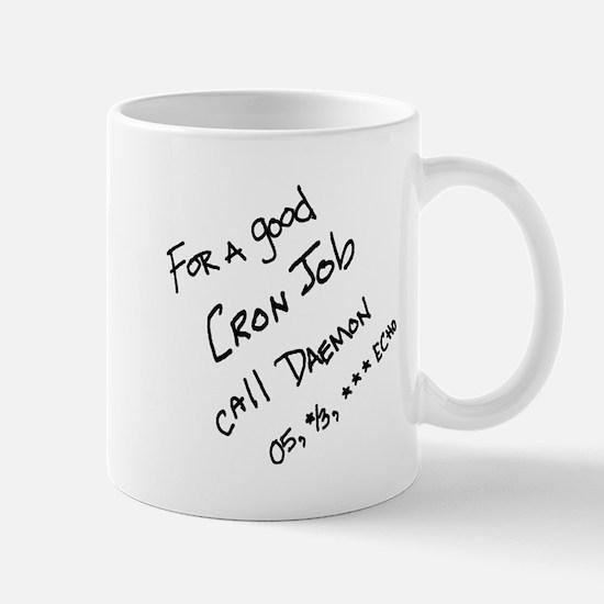 Cron Job Daemon Mug