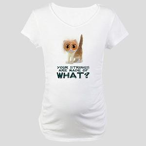 Catgut Strings Shocker Maternity T-Shirt