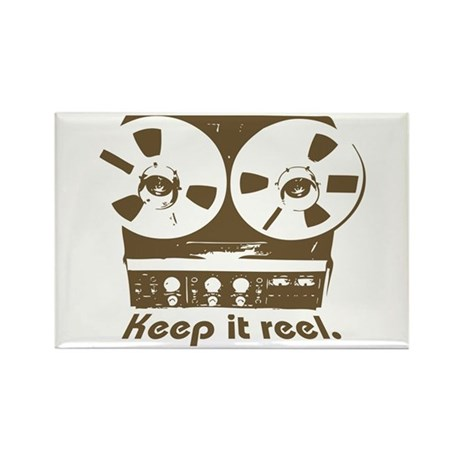 Keep It Reel Rectangle Magnet (10 pack)