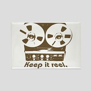 Keep It Reel Rectangle Magnet