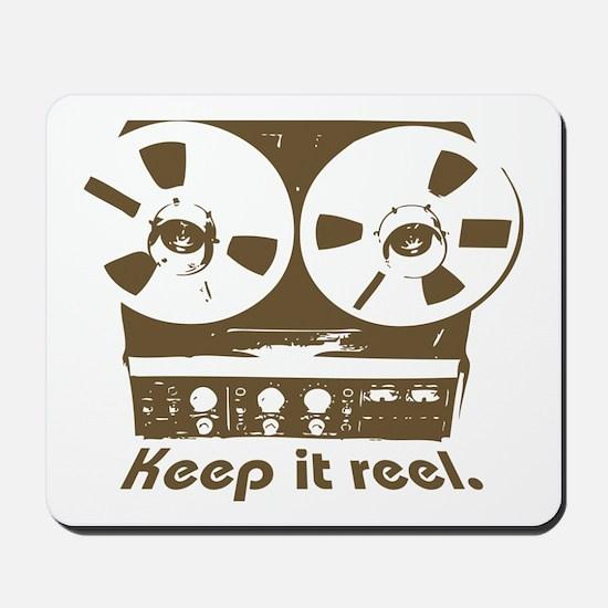 Keep It Reel Mousepad