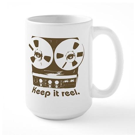 Keep It Reel Large Mug