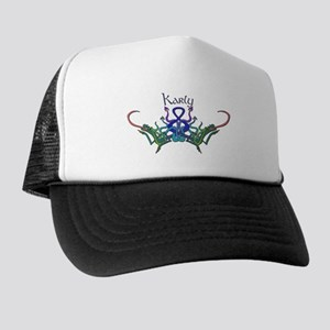 Karly's Celtic Dragons Name Trucker Hat