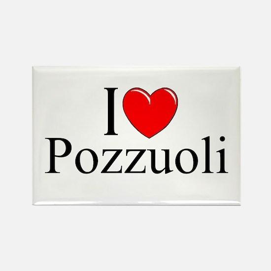 """I Love (Heart) Pozzuoli"" Rectangle Magnet"